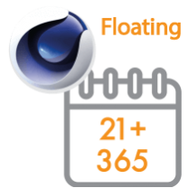 Cinema 4D Multi-Seat Floating Subscription 1 Year 21+ seats (Price per seat)