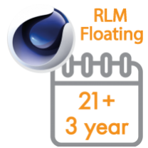Cinema 4D Multi-Seat RLM Floating Subscription 3 Years 21+ seats (Price per seat)