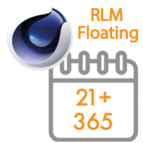 Cinema 4D Multi-Seat RLM Floating Subscription 1 Year 21+ seats (Price per seat)