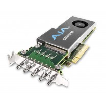 2 Gen PCIE 8 channel I/O, raster independent channels, 4K capable, tall (standard) PCIe bracket, no cables