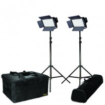 IFD576-2PT-KIT Kit with 2 X IFD576 Lights w/AB and Sony V-Mount Battery Plates