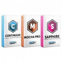 Bundle: Sapphire + Continuum + Mocha Pro Plug-in Multi-Host Annual Subscription - Academic Site License 50 seats