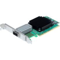 Single Channel 10/25/40/50/100GbE x16 PCIe 3.0, Low Profile, Integrated QSFP28