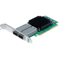 Dual Channel 10/25/40/50GbE x16 PCIe 3.0, Low Profile, Integrated QSFP28