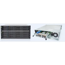 EonStor GSe 3000 - Enterprise high performance unified storage with supporting comprehensive SAN, NAS, and cloud gateway