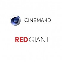 Cinema 4D + Red Giant 1 Year (Volume-License)