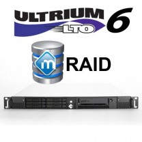 mRack DIT LTO-6 with Xendata 6 for Windows