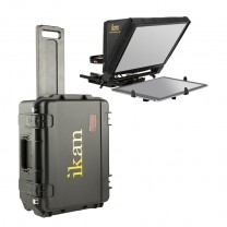 Elite Universal Tablet Teleprompter Travel Kit with Rolling Hard Case (version 2)