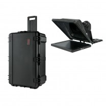 """Professional 15"""" High Bright Teleprompter with 3G-SDI, Travel Kit"""