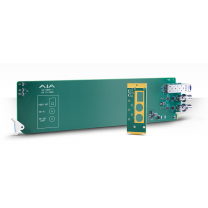 1-Channel 3G-SDI to Multi-Mode LC Fiber Transmitter - Requires 2 slots in frame