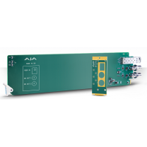 1-Channel Multi-Mode LC Fiber to 3G-SDI Receiver - Requires 2 slots in frame