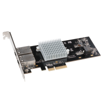 Presto 10GBASE-T Ethernet 2-Port PCIe Card