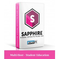 Sapphire Multi-Host (Avid/Adobe/OFX) - Annual Subscription - Student Education