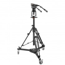 Air-Assist Pedestal with Easy Height Adjustment Lever (E-Image) Aluminum Pedestal with AT7903 Legs, 7103H Head, and EI-7005 Dolly