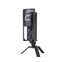USB Podcasting, Live Streaming and Vlogging Condenser Cardioid Microphone (Comica)