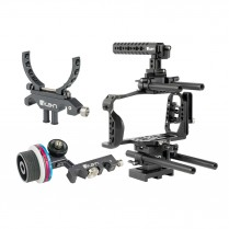 STRATUS Cage Kit for Blackmagic Pocket Cinema Camera 6K & 4K w/ Follow Focus and Lens Support