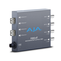 FiDO-4T-X - Quad Channel SDI to LC Fiber Converter for CWDM