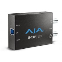 U-TAP-SDI HD/SD USB 3.0 capture device for Mac/Windows/Linux with 3G-SDI input. Bus powered, no driver software necessary.