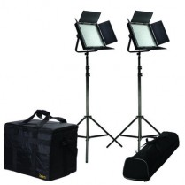 Kit with 2 X IFB1024 lights w/ AB and V-Mount Plates