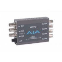 HD10DA HD/SD (dual-rate) re-clocking 1x6 Serial Digital DA