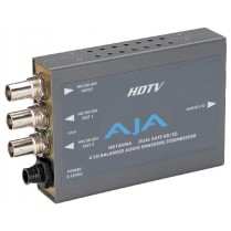 HD10AMA HD/SD 4-channel analog audio embedder/disembedder