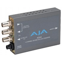 ADA4 4-channel bi-directional audio A/D and D/A converter