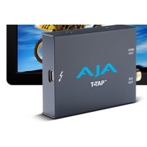 T-TAP Thunderbolt powered SDI and HDMI output.