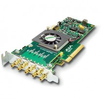 Standard-profile 8-lane PCIe, 8 x SDI independently configurable