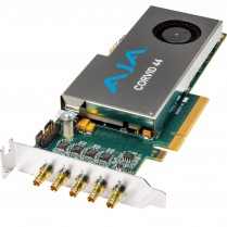 Low-profile 8-lane PCIe, 4 x SDI independently configurable, no cables included