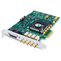 4-lane PCIe card, 4-in/4-out or single 4K / 3G / HD / SD SDI I/O, 2xLTC, Genlock, 2xRS-422, 2x Mixer/Keyer