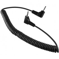 Coiled 1-to-3 ft. LANC cable