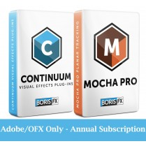 Bundle: Continuum + Mocha Pro Adobe/OFX - Annual Subscription