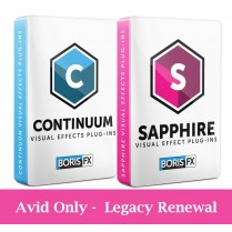 Bundle: Sapphire + Continuum Avid Only - Legacy Renewal