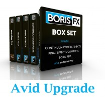 Boris Box Set Upgrade Avid Option (RED; Boris Continuum Complete; Final Effects Complete & Mocha Pro)
