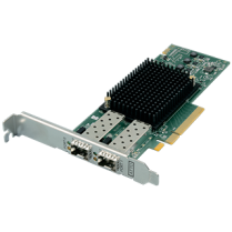 CTFC-162P-000 Dual-Channel 16Gb/s Gen 6 Fibre Channel PCIe 3.0 Host Bus Adapter (includes SFPs)