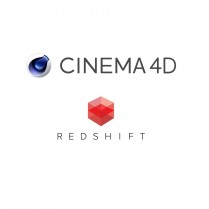 Cinema 4D + Redshift for C4D 1 Year - Volume License