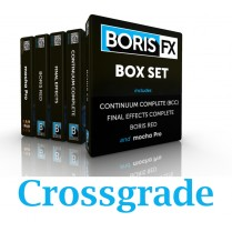 Boris Box Set Crossgrade (RED; Continuum; FEC & Mocha Pro