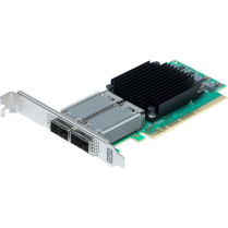 Dual Channel 10/25/40/50/100GbE x16 PCIe 3.0, Low Profile, Integrated QSFP28