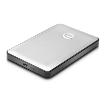 G-DRIVE mobile USB-C  SILVER 7200rpm, Ultra Portable, Featuring Type-C Connector 1TB [0G04878]