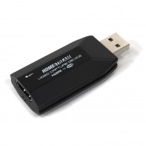 Homestream HDMI To USB Video Capture Device 4K 30FPS with USB Cable