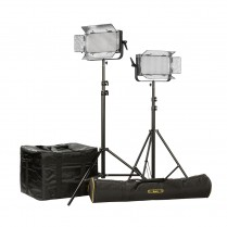 ID500-PLUS-2PT-KIT Kit with 2 x ID500-v2 Lights, Yoke, and AB Mounting Plates