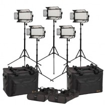 Kit with 5 x Mylo Bi-Color Half x 1 LED Lights