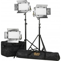 Kit with 3 x Lyra Daylight Half x 1 LED Soft Lights