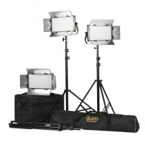 Kit with 3 x Rayden Bi-Color Half x 1 LED Lights