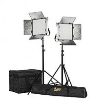 Kit with 2 x Rayden Bi-Color 1 x 1 LED Lights