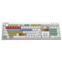 SW KEYBOARD - Dedicated, color coded PC keyboard for simple software operation.