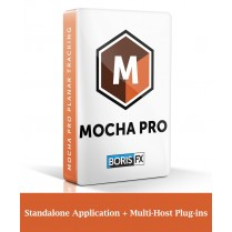 Mocha Pro: Standalone Application + Multi-Host Plug-ins (includes 1 year upgrade & support)