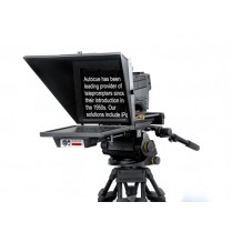 "Master Series 20"" SDI Prompter with Large Wide Angle Hood, Pro Plate and Short Rods"