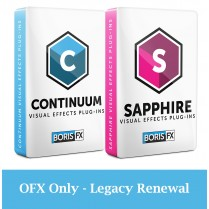 Bundle: Sapphire + Continuum OFX Only - Legacy Renewal
