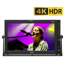 "17"" 4K Monitor with 12G-SDI, Dual Link 6G, Quad Link 3G"